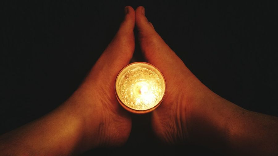 Relight my fire REVOLUTION,TO BE ALL THE SAME A Detail Of Me My Feets Candlelight Orange By Motorola Barefoot