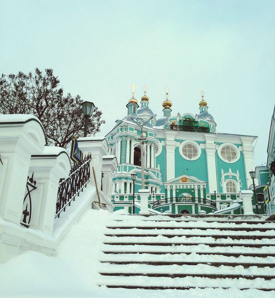 храм Церковь смоленск зима Русскаязима First Eyeem Photo