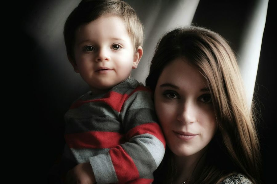 Sacha et Lisa 💙💜 (sweet color of life) Eyeem Portrait Mother&son Portrait