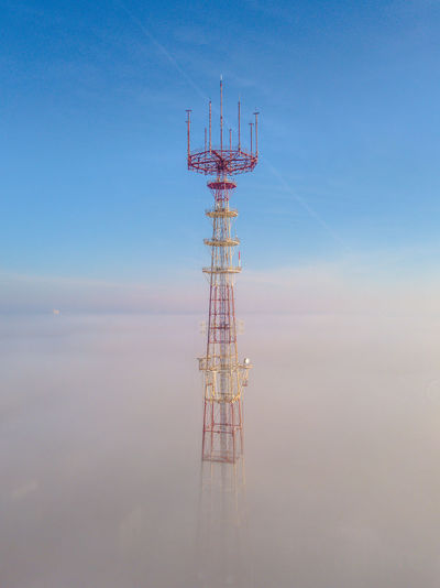 View Of Communications Tower Against Sky