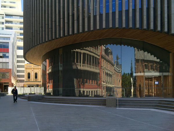 Perth Reflection Architecture Iphonephotography