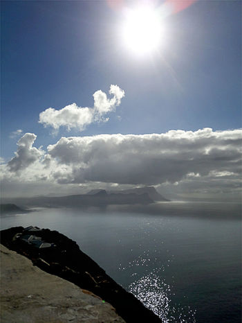 Cape Point Sea Cloud - Sky Water Sunlight Sunbeam Nature Horizon Over Water Sun Beauty In Nature Landscape Beach Sky Scenics Outdoors Tranquility No People Blue Day Freshness