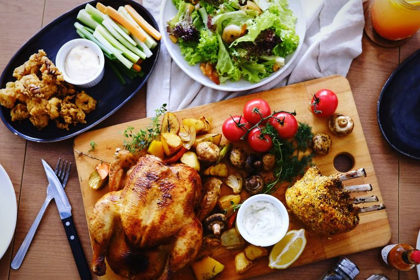 Be. Ready. Healthy Eating Food Food And Drink Table Freshness No People Plate High Angle View Preparation  Healthy Lifestyle Bowl Vegetable Variation Indoors  Ready-to-eat Homemade Day Close-up