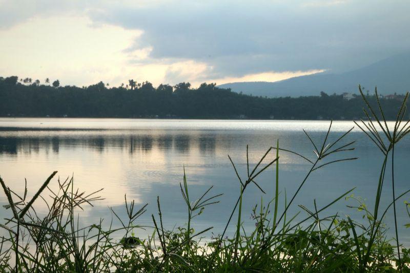 Morning at the lake Sampaloc Lake San Pablo Landscape Travel Lakeview Morning Canon 70d