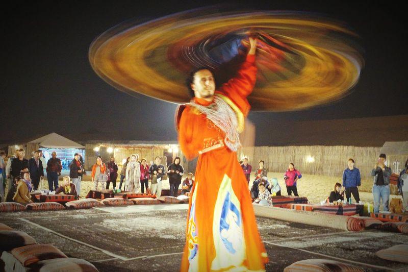Dubai❤ Cultures Folk Art  Show Man Colours Of Life Spectators