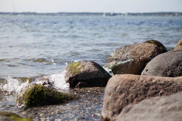 Rocks on sea
