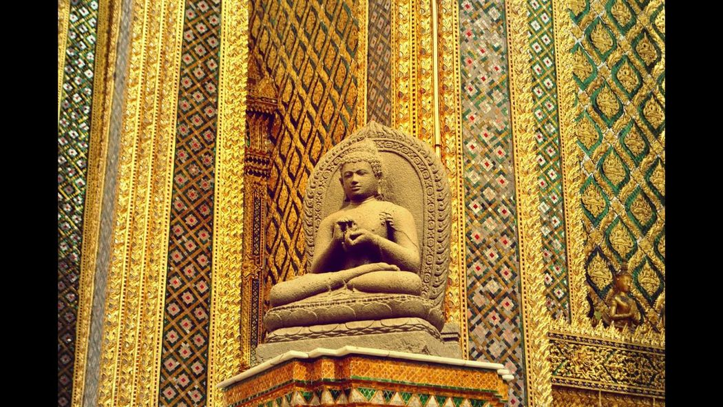 Thailand Bangkok Kingpalace Gold Buddha Holiday