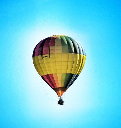 Flying Hot Air Balloon Sky