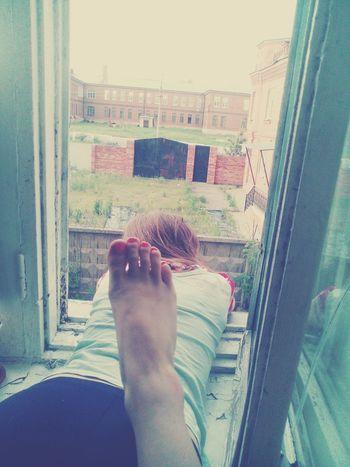 сестра гром дождь гроза Selfie ✌ ноги большая нанога