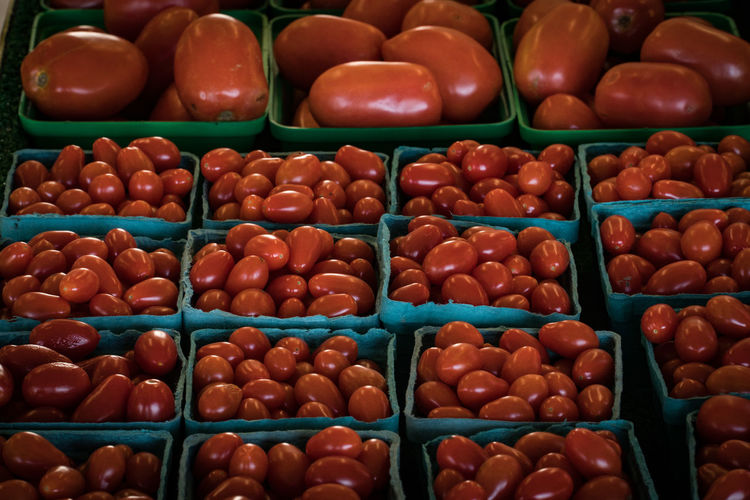 Abundance Backgrounds Choice Close-up Day Farmstand Food Food And Drink Freshness Full Frame Indoors  Large Group Of Objects Multi Colored No People Still Life Tomatoes Variation