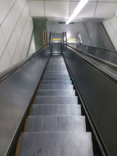 Design Escalator Indoors  Staircase Stairs Steps Steps And Staircases Subway Subway Station The Way Forward