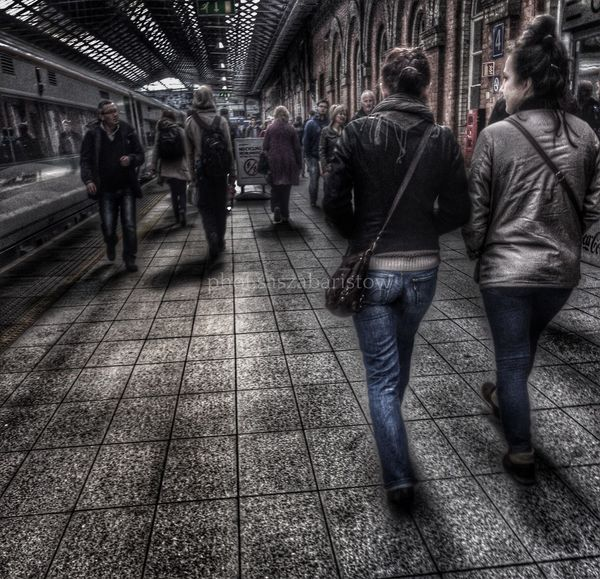 every day... HDR Collection Randompeople Street Photography City Life