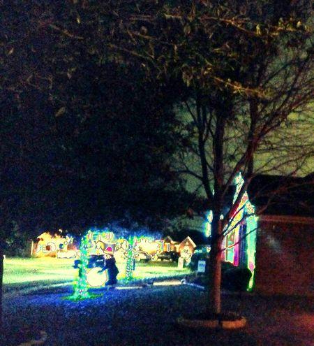 Longest Night Suburbia Nightscape