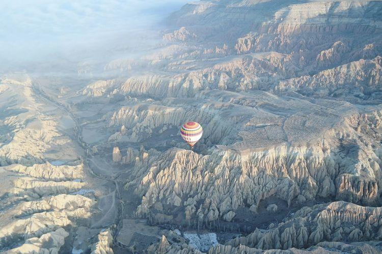 The Great Outdoors - 2016 EyeEm Awards Hot Air Balloon Travelling Travelling Photography Cappadocia Kapadokya Turkey