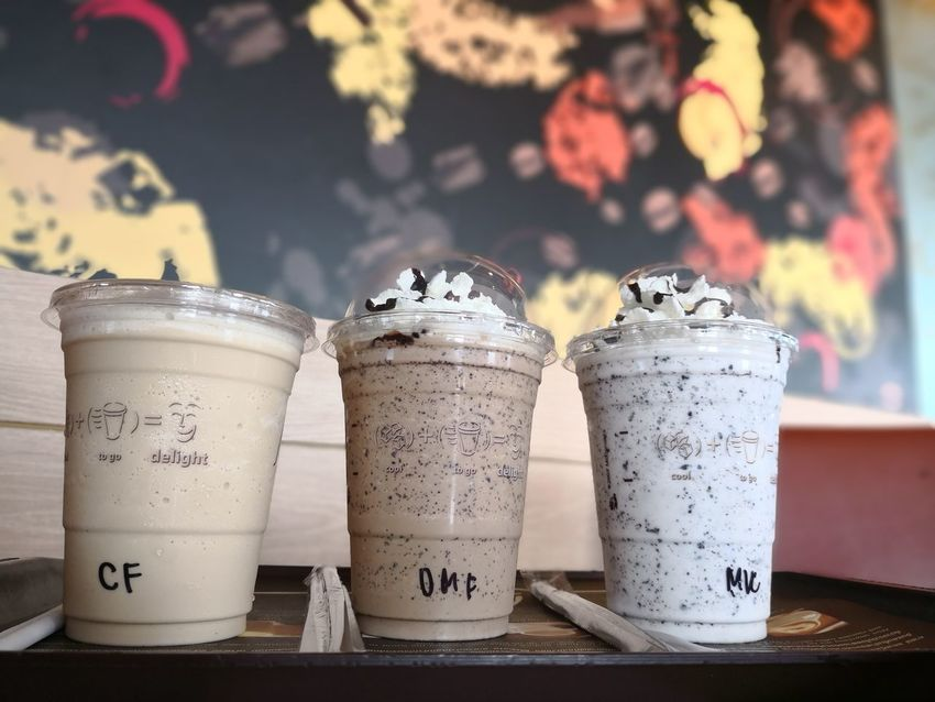drinks Cooffee Coffee - Drink Cooffetime Drink Milk Smoothie Text Close-up Food And Drink