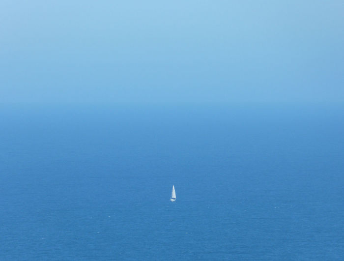 Beauty In Nature Blue Horizon Nature Sea Sky Tranquil Scene Tranquility