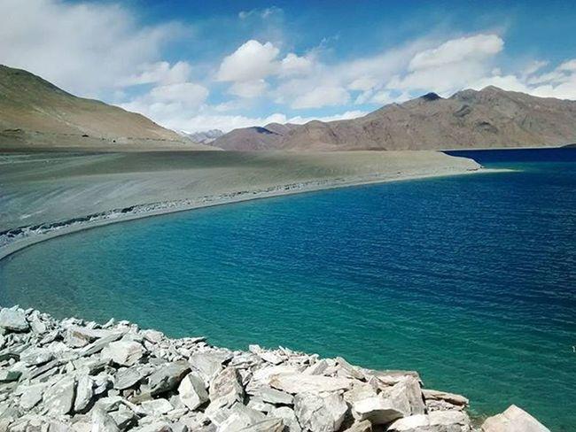 Pangonglake Ladakhdiaries JammuandKashmir Colours