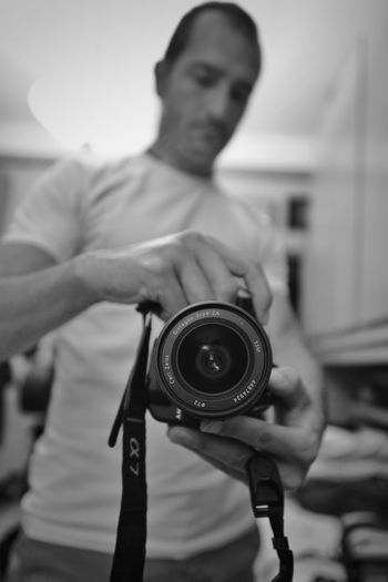 Only Men One Man Only Adult Adults Only One Person Men Indoors  Photography Themes Camera - Photographic Equipment Sal24f20z Sony A7RII EyeEm Selects Lombardia, Italy Focus On Foreground Mix Yourself A Good Time