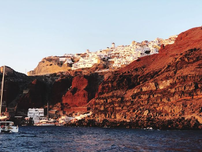 Red Beach, Oia