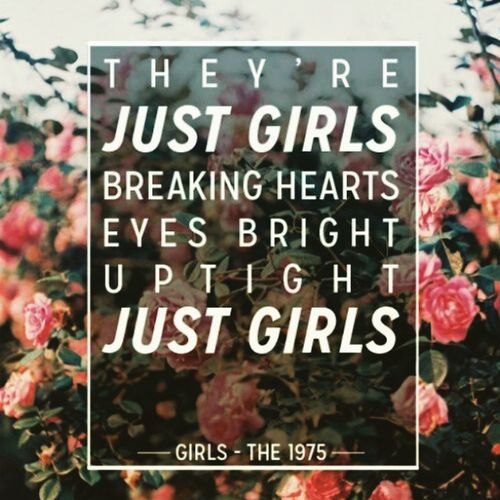 Girls - The 1975 Bands The1975 Healy Girls