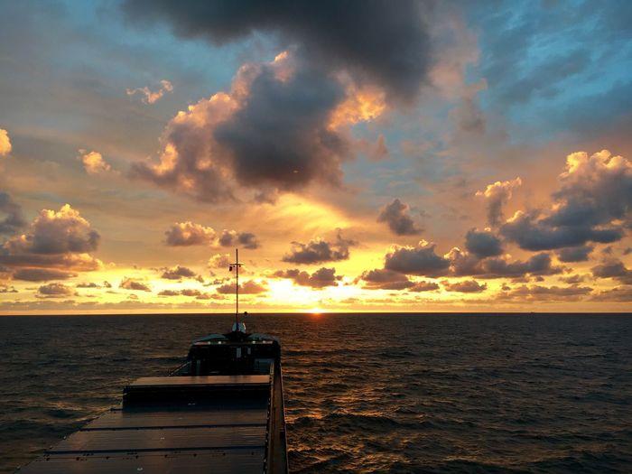 Sea Water Transportation Nautical Vessel Mv Donau