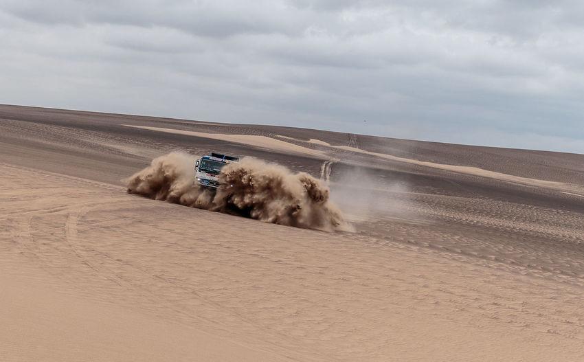 #dakar2019 #sand #dunes #peruviandesert #offroadracin #adventure Photography Land Sand #racingcar