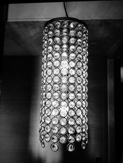 Taking Photos lighting Enjoying Life Crown Casino hotel luxurious crystals black & white Relaxing
