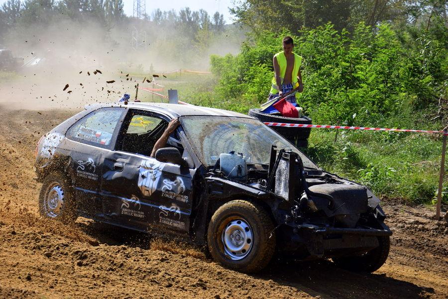 #car #cars #civic #dust #honda #Poland #race #survival #wrak