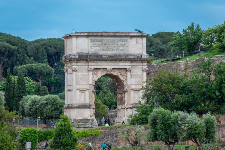 Plant Tree Architecture Arch Built Structure Travel Destinations Tourism Nature Travel History Monument Sky Day The Past Incidental People Ancient Memorial City Triumphal Arch Outdoors Ancient Civilization