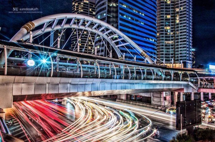 Bangkok night 📷 Night Night Lights Night Photography City Cityscapes City Life Photo Nikon Nikon D90