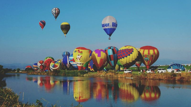 balloon balloon flyaway Keicomoment Reflections ☀ Beautiful Helloworld