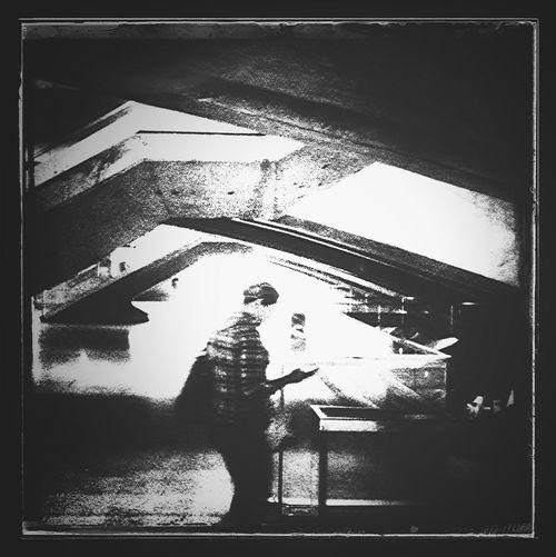 Street Life Notes From The Underground NEM Black&white ...The Plæce Øf Dæd Rœds...