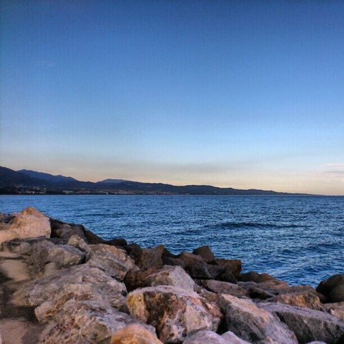 Enjoying the Sea Breeze While walking on the walkway puerto banus puerto_banus marbella spain