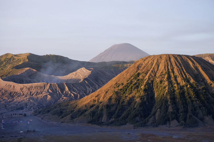 Beautiful view of Mount Bromo ASIA Holiday INDONESIA Indonesian Java Beauty In Nature Bromo Bromo Mountain Environment Geology Land Landscape Mountain Mountain Peak Mountain Range Nature Outdoors Physical Geography Power In Nature Scenics - Nature Sky Travel Destinations Volcanic Crater Volcanic Landscape Volcano First Eyeem Photo
