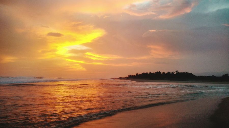 Beach Atardecer Puerto Escondio