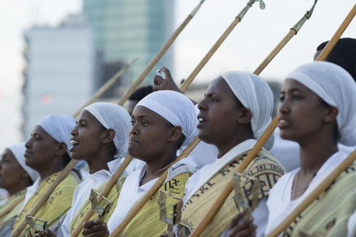 Ethiopia Ethiopian Photography 🇪🇹 Meskel Meskel Festival, Erhiopian Street Africa Day Meskel Flower MeskelSquare Outdoors Religion