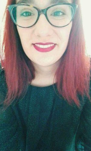 Make Up Fashion Tumblr Lipstick Redhair Tumblrgirl Fashiongirl  Enllamas Girltumblr Girl Pelirroja Selfie Glasses