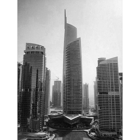 After 10 straight hours of flat hunting these will haunt me in my dreams....Dubai JLT Skyscraper Architecture blackandwhite b&w hustle