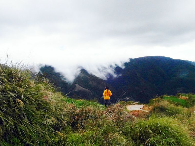 When in Pulag Mt. Pulag Sea Of ​​clouds Philippines Mountain Province