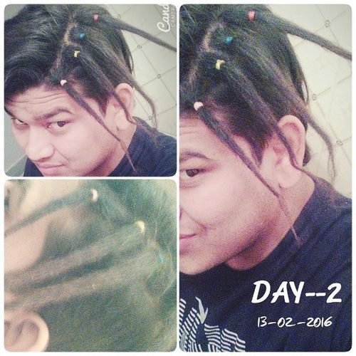 Day-2 ( Newlydreaded ) Second Day STEP - 5 ___ Repeat Back Combing if necessary .. (if you have loops) After this ... Use the clockwise rubbing method and palm rolling (rolling the dread back and forth between your palms) to help the body of the dreads and the roots tighten. Tighten the tips by tip rubbing. Keeping them clean and free of residues helps them tighten tremendously. Of course spraying them with Locking Accelerator or using a light sprinkle of Dread Dust helps too. The Accelerator increases friction between the hair strands by separating the tiny shingles that make up each strand. This increased friction tightens them super fast. Sun helps the process too, spray the Accelerator in your hair and allow it to dry in the sun. Lightly sprinkle Dread Dust onto dry hair. Dream Dreadhead Dread DreadStyles  DreadHeads Dreadedhair Dreaducated Hippie Rastafarian JahRastafari Dreadlockslife Dreadstyle Dreadlocksmexicodf Dreadlocks4life Aztecadreadlocks Rastafari Rastagram Dreadingwork Reggaeworld Soljah Rastafari_stands_alone Rastalove Rastafari OneLove roots dreadie dreadies dreadsrule