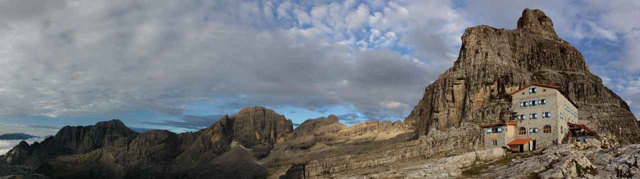 Alpy Beauty In Nature Brenta Dolomites Dolomity Gory Italy Rifugio Pedrotti Rock Schronisko