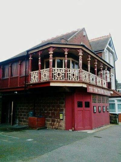Local Theatre Margate Tom Thumb Theatre Historical Building Woodwork