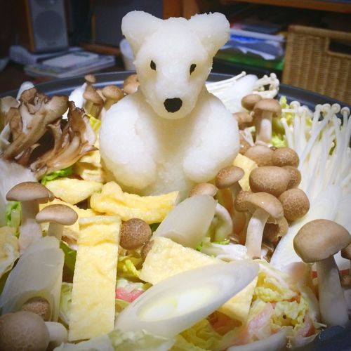 Cooking a Hot-pot Party with Friends Art Bear