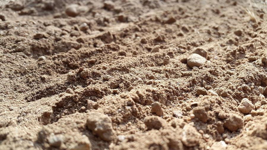 Full frame of sand at beach