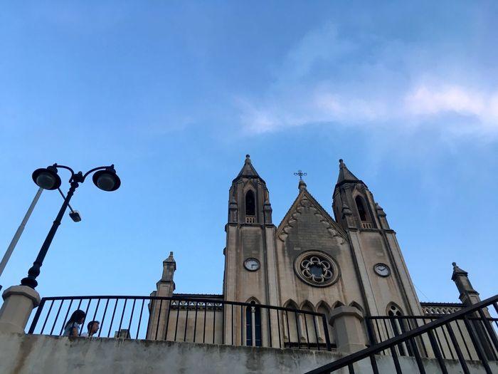 Malta Church Maltese Church Low Angle View Malta Architecture