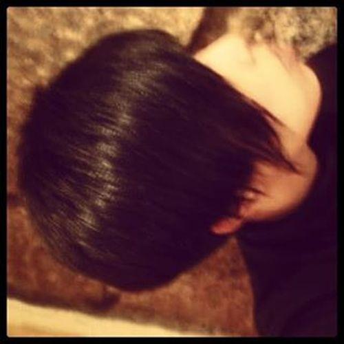 叫我又愛又恨的鐵線 通常恨多啲 我個人好懶 淨係鍾意短 唔好煩我就OK Hair Shorthair Haircut Profile Black Dark