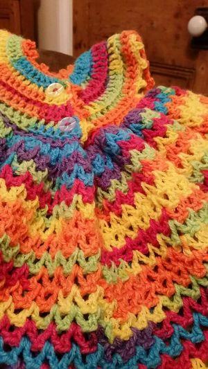 My Hobby Rainbow Baby Love Crochet Colourful