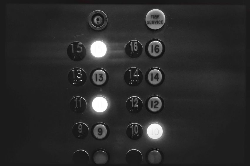 #elevator Lift Stories Floors Floor Buttons Elevator EyeEm Selects No People Close-up Indoors  Technology Day