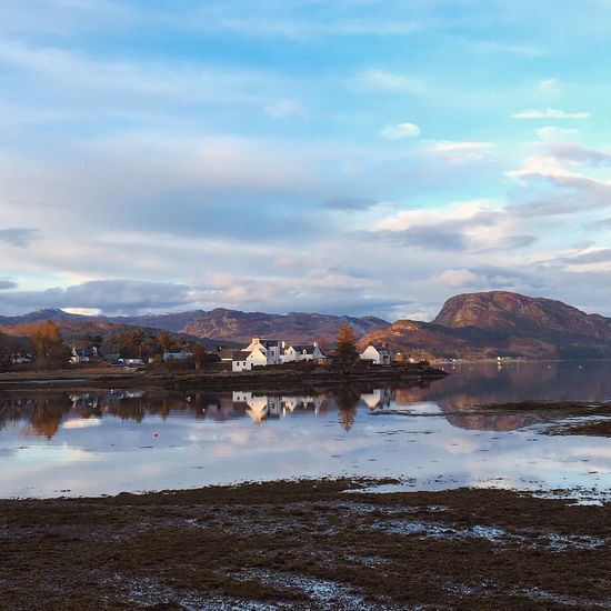 Plockton Reflection Reflections In The Water Water Reflections Watermirror Sunset Mytinyatlas Scotland Highlands VisitScotland ILoveScotland