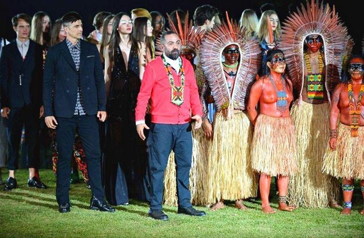 Reinaldo Gianechini com o Dono da Cavalera Na Aldeia Yawanawá. Brazil Acre Indios Amazonas-Brasil Cavalera 🇧🇷